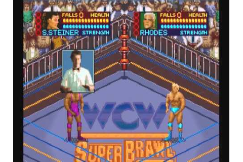 Classic Wrestling Video Games: WCW SuperBrawl (SNES) - YouTube