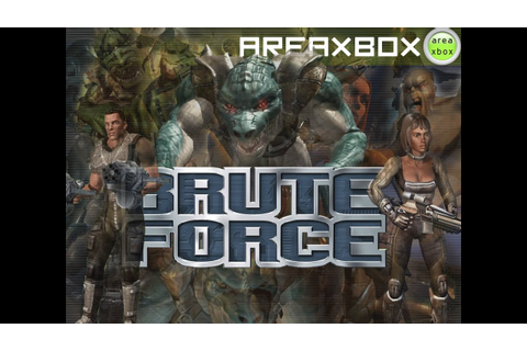 Let's Play Brute Force (Xbox) - YouTube