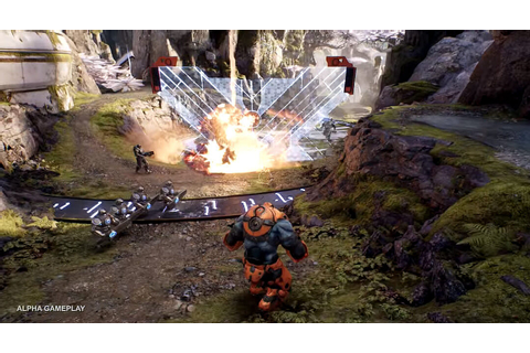 Paragon Intro & Tutorial Gameplay Video Shows Epic MOBA Action