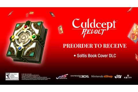 Culdcept Revolt Pre-Order Bonus At GameStop & New Trailer ...