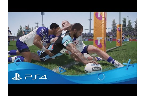 Rugby League Live 4 | PS4 Games | PlayStation