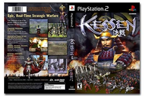 First Look at Kessen US Box Art - IGN