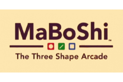 MaBoShi: The Three Shape Arcade Review - WiiWare ...