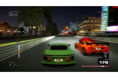 Project Gotham Racing 3 (PGR3): Custom Route 5 race ...