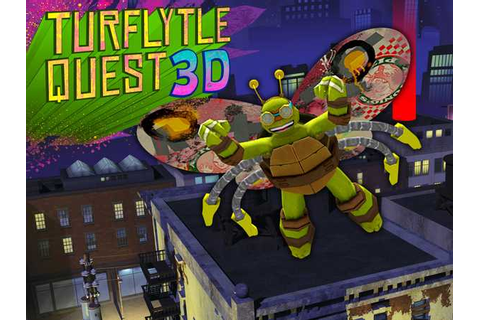 Teenage Mutant Ninja Turtles TurFlytle Quest 3D Adventure Game