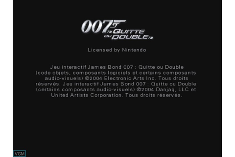 007 - Everything or Nothing for Nintendo GameCube - The ...
