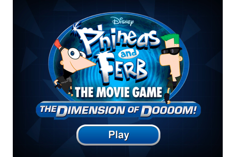 Phineas and Ferb The Movie Game: The Dimension of Doooom ...