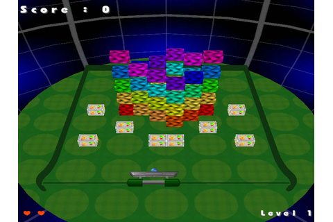 Magic Ball arcanoid game: Breakout style action in full 3D.