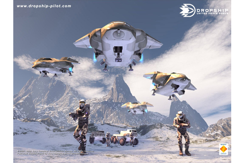New Dropship: United Peace Force Wallpaper - IGN