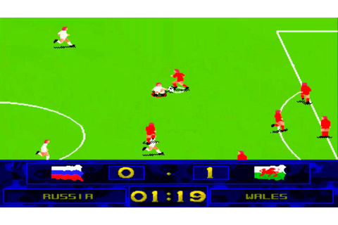 AMIGA Soccer Superstars AMIGA AGA 1995 Flair M5 cr PSG ...