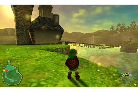 The Legend of Zelda: Ocarina of Time 3D | 3DS Game Downloads