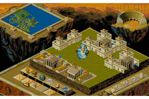 Populous II: Trials of the Olympian Gods Download Game ...