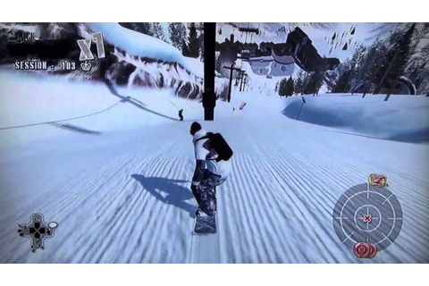 15 min z Shaun White Snowboarding - PS3 Gameplay by maxim ...