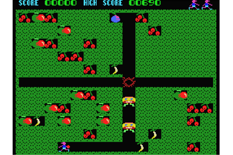 Fruity Frank Screenshots for MSX - MobyGames
