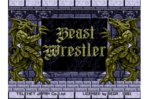 VGM003: Game Mode Select - Beast Wrestler [Extended] - YouTube