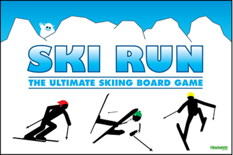Ski Run The Ultimate Skiing board game