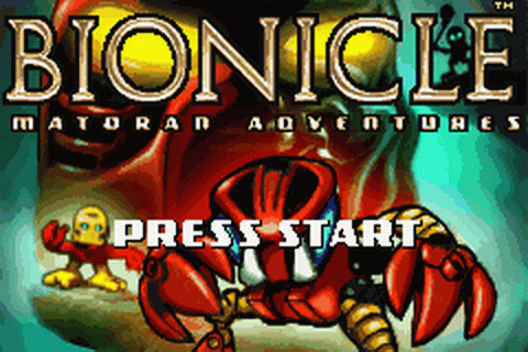Play Bionicle - Matoran Adventures Nintendo Game Boy ...