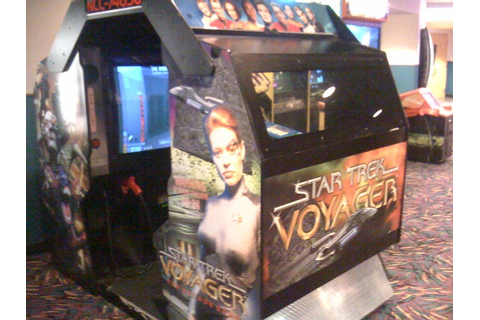 Star Trek Voyager arcade game from 2001 | I'm surprised ...