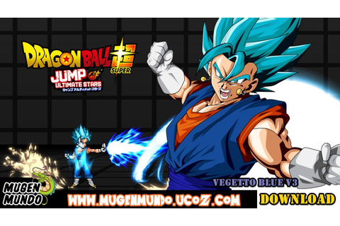 Vegetto / Vegito Blue V3 by Mythos Mugen (Download) (PC ...