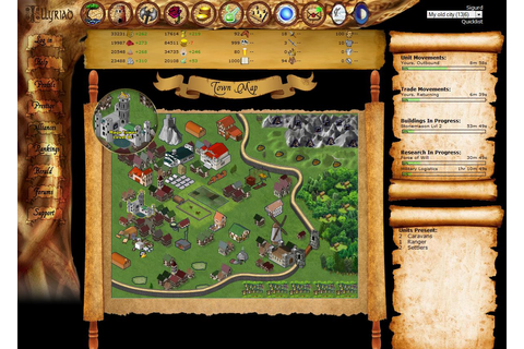 Illyriad - Free Multiplayer Online Games