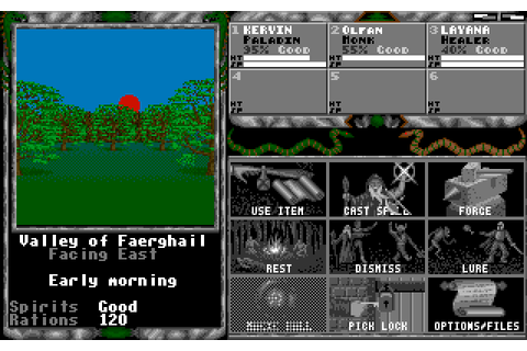 Legend of Faerghail (1990) by Electronic Design Amiga game
