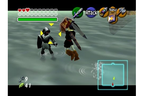 Cool Gaming Tip #1: How to defeat Shadow Link (N64 ...