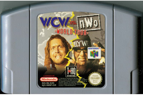 WCW vs. NWO: World Tour (1997) Nintendo 64 box cover art ...