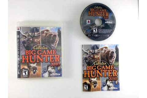 Cabela's Big Game Hunter 2010 game for Playstation 3 ...