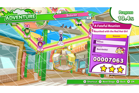 New Puyo Puyo Tetris 2 Trailer Showcases Adventure Mode ...