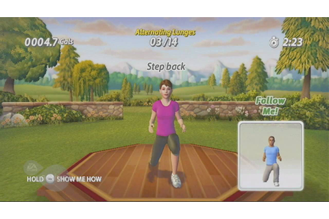 EA SPORTS Active Personal Trainer - Nintendo Wii (720p HD ...