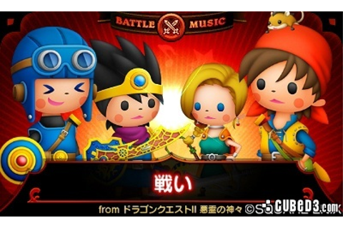 News: Theatrhythm Dragon Quest Screenshots Released Page 1 ...