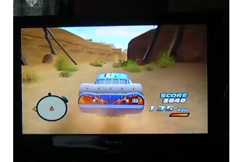 Cars Gameplay ( Wii ) - YouTube