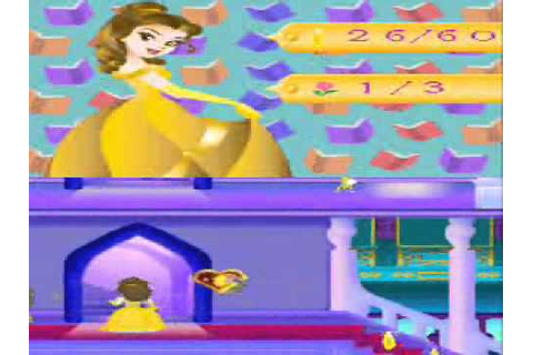 Disney Princess Magical Jewels Belle's Gameplay.wmv - YouTube