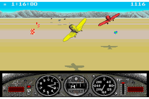 Gee Bee Air Rally (1987) by Activision Amiga game