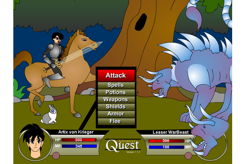 Adventure Quest - Online Game of the Week