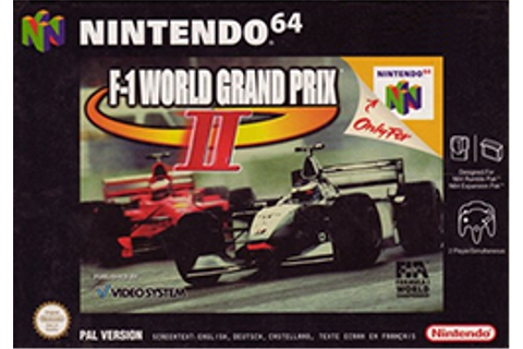F-1 World Grand Prix II - Wikipedia