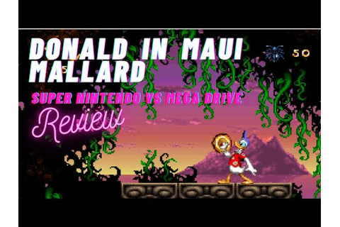 15 minutes of game - Donald in Maui Mallard - SNES vs ...