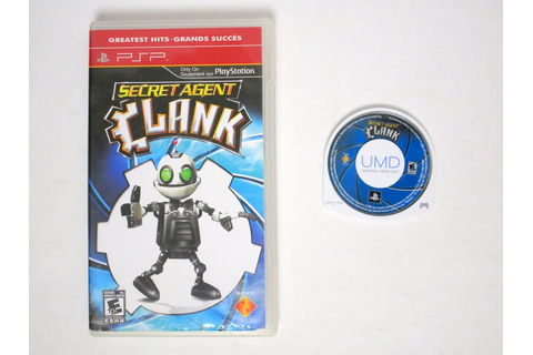 Secret Agent Clank game for PSP | The Game Guy