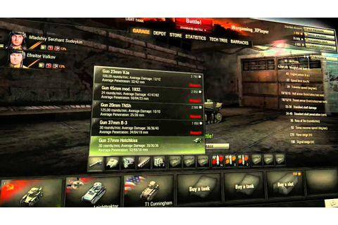 World of Tanks: 'getting started' HD video game tutorial ...