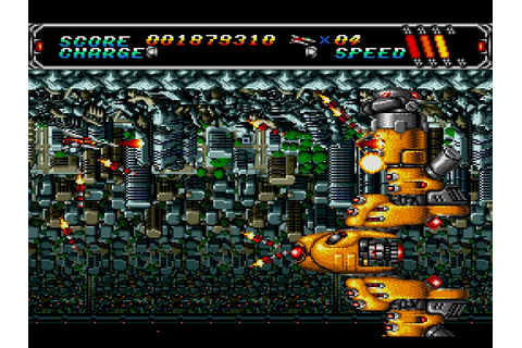 Android Assault | Genesis | Android Assault, Sega, shmup ...
