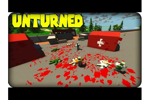 Unturned Gameplay - Zombie Survival Game - ZOMBIE MASSACRE ...