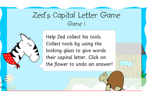 Capital Letters and Full Stops Games and Resources ...