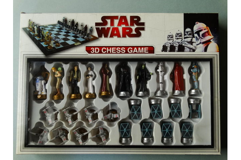 Star Wars - Chess game Tie Fighter vs X-Wing Fighter: Star ...
