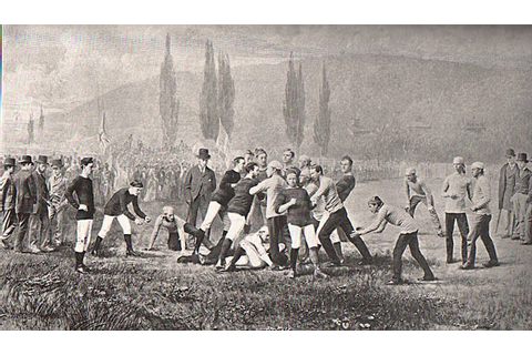 princeton vs rutgers 1859 | The Same Old Game