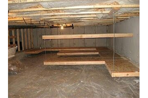 Crawlspace Storage | Finished Basement | Pinterest ...