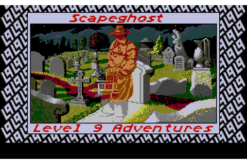 Scapeghost (1989) by Level 9 Computing Atari ST game