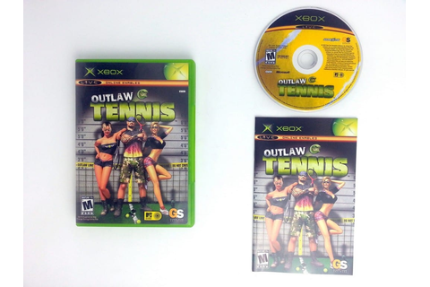 Outlaw Tennis game for Xbox (Complete) | The Game Guy