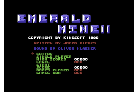 Download Emerald Mine II - My Abandonware