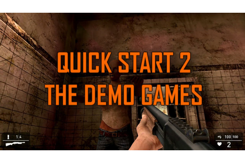 Game Guru Quick Start 2 – The Demo Games - YouTube