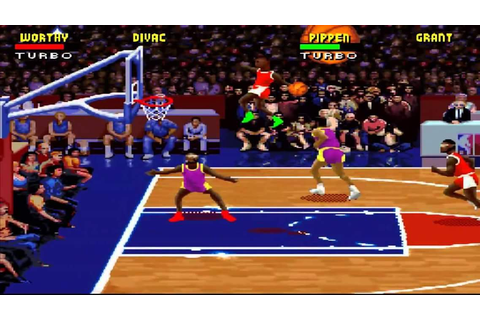 NBA Jam (Rev A) - Super Nintendo (SNES) Game